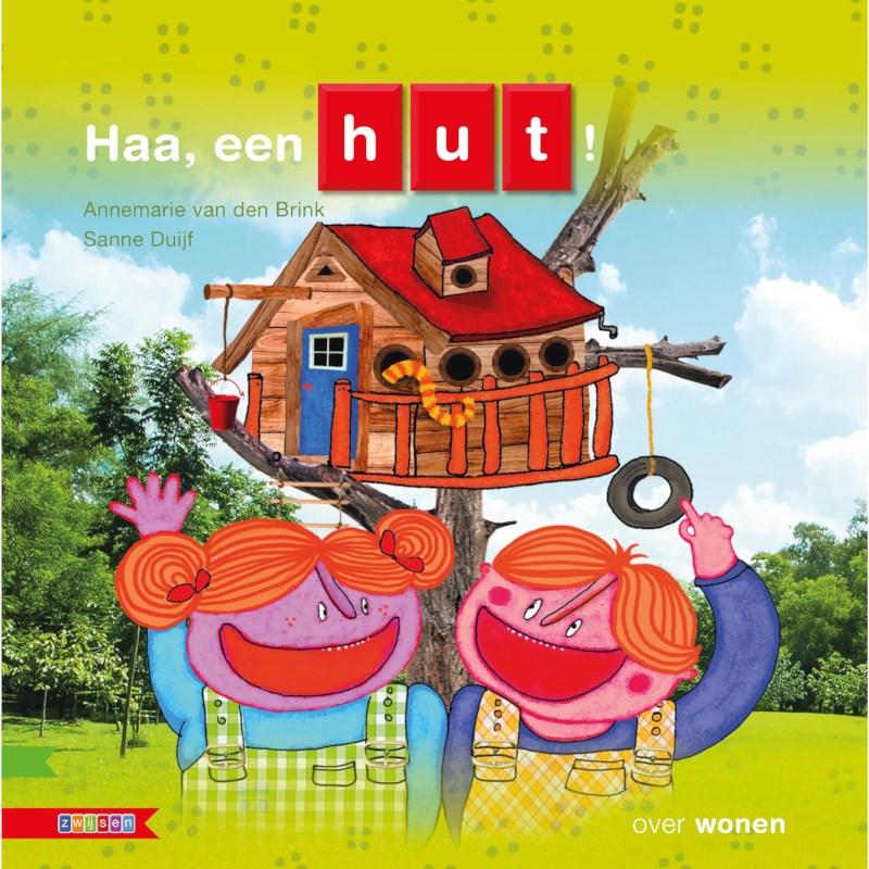 Kleutersamenleesboek Haa, een hut! (avi Start)