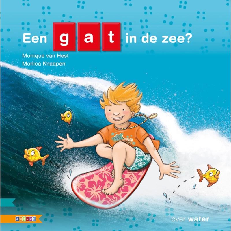 Kleutersamenleesboek Een gat in de zee (avi Start)