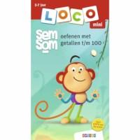 Mini Loco | Semsom oefenen met getallen t/m 100