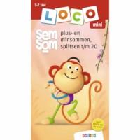 Mini Loco | Plus- en minsommen, splitsen tot 20