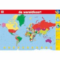De wereldkaart | Poster