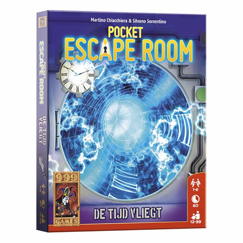 Pocket escape room | De tijd vliegt