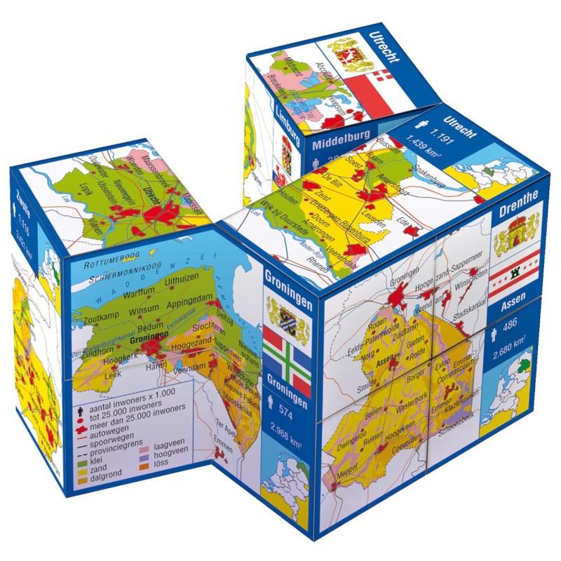 ZooBooKoo kubus Nederland provincies