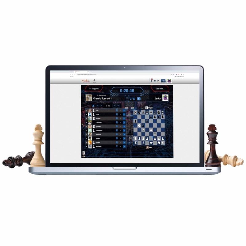 Chessity | Online schaken | Familie-abonnement 12 maanden