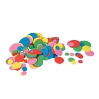 Rubber figuren   Ronde vormen   200 stuks