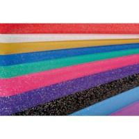 Glitterpapier | Pak 10 vel assorti | Formaat 50 x 70 cm
