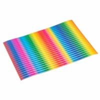 Golfkarton | Vel 50 x 70 cm | Regenboog | Per vel