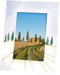 Fotolijstjes blanco   16,6 cm x 21,6 cm   Wit karton