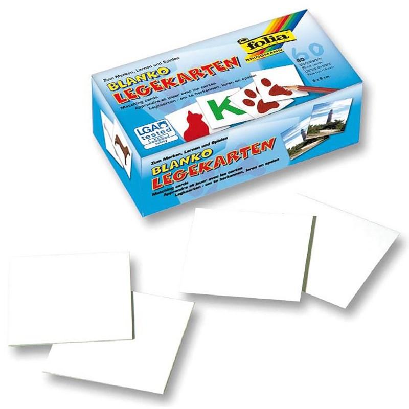 Blanco geheugenspelkaartjes