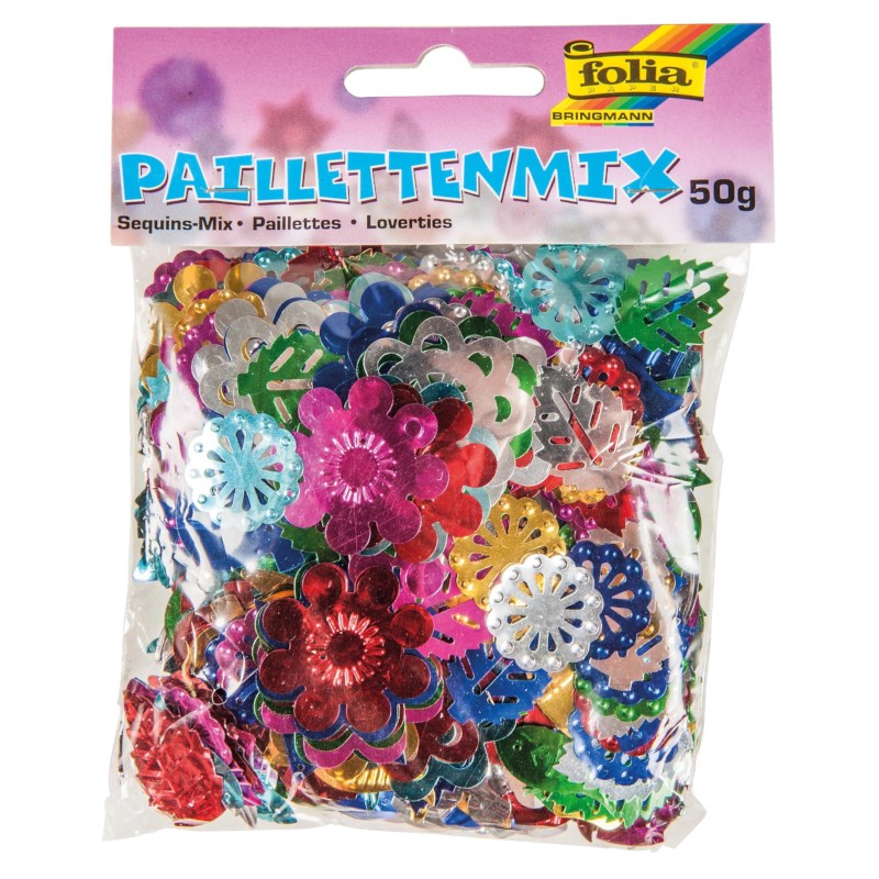 Pailletten | Paillettenmix | 50 gram