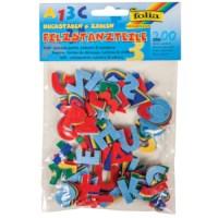 Viltvormen | Letters/getallen, 200 stuks