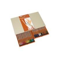Kleurpotloden zeskantig | Bruynzeel design | 24 stuks