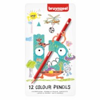 Kleurpotloden zeskantig | Bruynzeel | 12 stuks