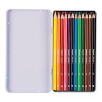 Kleurpotloden zeskantig | Bruynzeel color express | 12 stuks