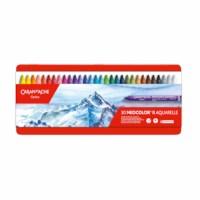 Kleurkrijt | Neocolor II | Blik à 30 kleuren