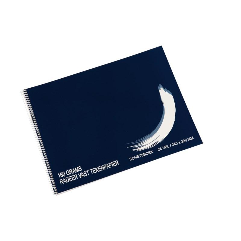 Schetsboek   160 grams   24 x 32 cm