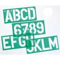 Letter-/cijfersjablonen | Linex | 50 mm