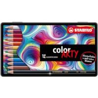 Kleurpotloden | Stabilo | 12 kleuren assorti