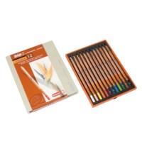 Kleurpotloden zeskantig | Bruynzeel design | 48 stuks