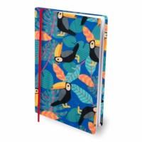 Rekbare boekenkaft   A4   Tropical Vibes   Per stuk