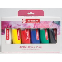 Art creation | Talens | Acrylverf | Set à 6 tubes | 75 ml