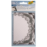 Designpapier Cutties | Klassiek |3 vel met 6 designs