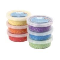 Foam Clay | Assortiment | 6 x 14 gram | Metallic