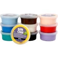 Silk Clay | Basis 2 standaard assortiment | 10 x 40 gram