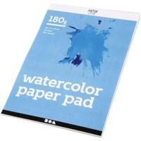 Aquarelblok A4 | Wit | 180 gram | 20 vel