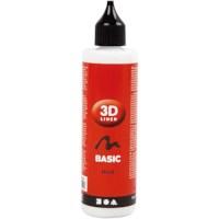 3D liner | 100 ml | wit