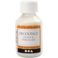 Decoupage lijmlak | Glas en porselein | 100 ml