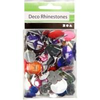 Strass stenen | Mix 10 - 15 mm | 15 gram