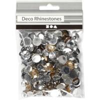 Strass stenen | Rond | 6, 9, 12 mm | Zilver