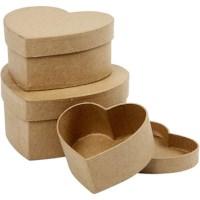 Harten dozen | Diameter 10, 12,5, 15 cm