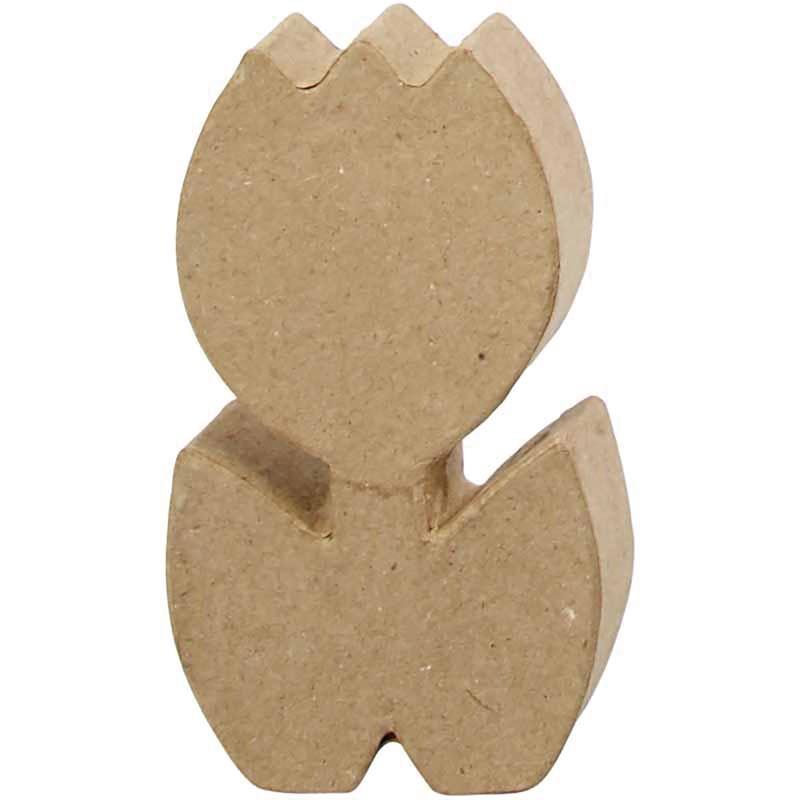 Bloem Tulp | Hoogte 19 cm | diepte 3 cm