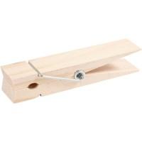 Grote wasknijper | Berkenhout | 15 x 3,5 cm | Per stuk