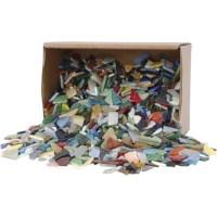 Mozaiek | Kleuren assorti | 8-20 mm | Dikte 2-3 mm | 2 kg