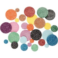 Foam cirkels EVA | Diameter 12, 20, 32 mm | 150 assorti