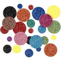 Foam cirkels EVA | Diameter 12, 20, 32 mm | 150 assorti
