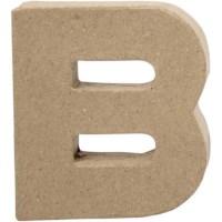 Papier-maché letter | B | Klein
