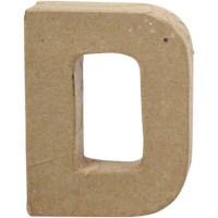 Papier-maché letter | D | Klein