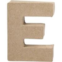 Papier-maché letter | E | Klein
