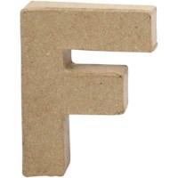 Papier-maché letter | F | Klein