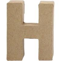 Papier-maché letter | H | Klein