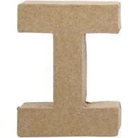 Papier-maché letter | I | Klein