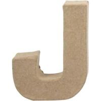 Papier-maché letter | J | Klein