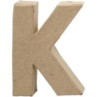 Papier-maché letter | K | Klein