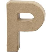 Papier-maché letter | P | Klein