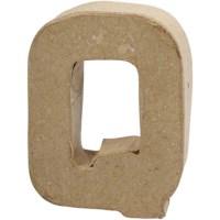 Papier-maché letter | Q | Klein