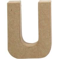 Papier-maché letter | U | Klein